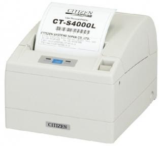 Принтер чеков Citizen CT-S4000 белый USB