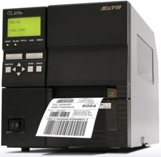 Принтер штрих-кодов SATO GL408e (203 dpi), WWGL08002 + WWGL15200