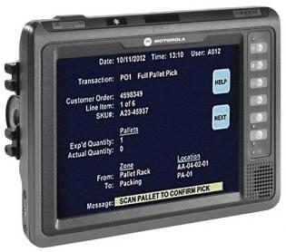 Терминал сбора данных (ТСД) Zebra (Motorola, Symbol) VC70N0: VC70N0-60VDC-U-R