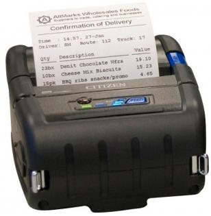 Принтер штрих-кодов Citizen CMP-30 Bluetooth 1000827