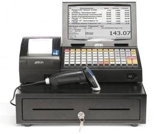 BOX-система АТОЛ Магазин у дома Айтида FPrint-55 ЕНВД