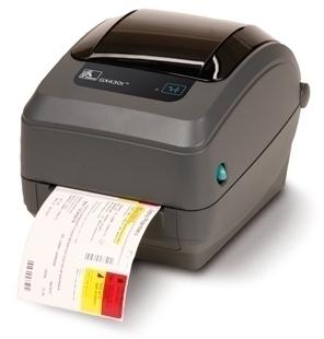 Принтер штрих-кодов Zebra Gx430t GX43-102521-000