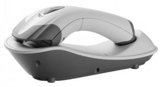 Беспроводной одномерный сканер штрих-кода Сканер Argox AS-8020CL USB (Серый) + блок питания