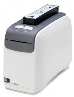 Принтер печати браслетов Zebra HC100 HC100-300E-1000