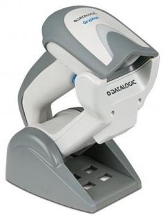 Беспроводной 2D сканер штрих-кода Datalogic GRYPHON I GBT4400 GBT4430-WH-BTK1 KBW, серый