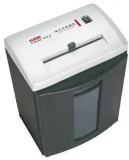 Шредер HSM 102.2-4.0x25 серебряный