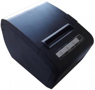 Принтер чеков Sam4s Ellix 40L, Ethernet/USB, LCD, черный (с БП)