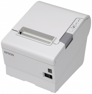 Принтер чеков Epson TM-T88V, USB+COM, ECW + PS-180 светлый