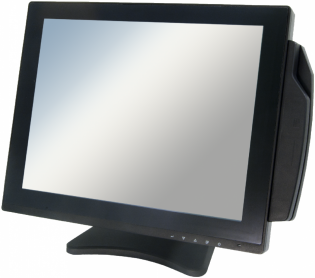 "POS-монитор Global POS DP151B-V 15"""" ELO-тачскрин USB/RS232"