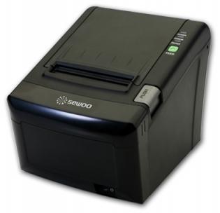 Принтер чеков Sewoo LK-TЕ122_UE (USB, Ethernet) черный