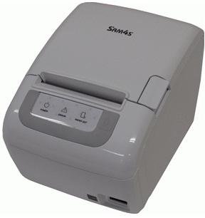 Принтер чеков Sam4s Ellix 35D, COM/USB/Ethernet, белый (с БП)