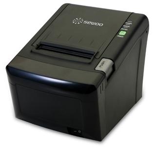 Принтер чеков Sewoo LK-TL12 (USB + Serial) чёрный