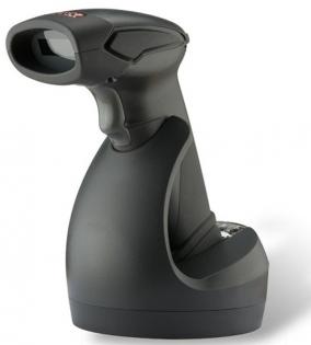 Беспроводной одномерный сканер штрих-кода Zebex Z-3190BT, черный